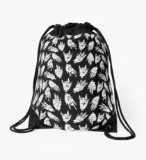 Gothic Witchy Hands Drawstring Bag