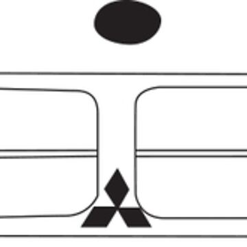 Mitsubishi Chrysler Lancer - Black by feralsteph