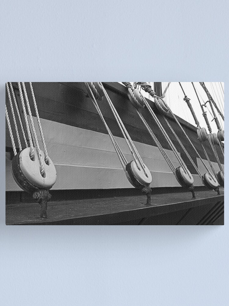 Alternate view of Rigging Canvas Print