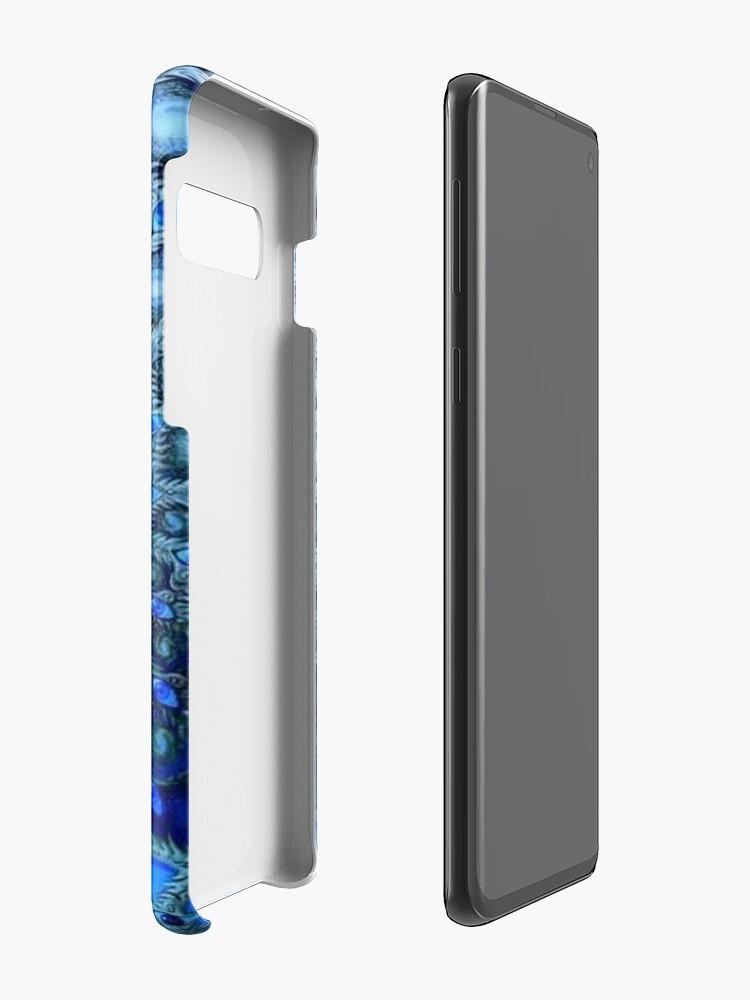Alternative Ansicht von Werkzeugbandgrafik. Trippy, psychedelisches, cooles Logo Hülle & Klebefolie für Samsung Galaxy
