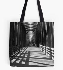 """Old Railroad Trestle"" Tote Bag"