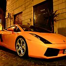 Lamborghini fires up the cobblestone street by Rommel Andrew Henricus