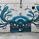 Canal Graffiti Walk in Richmond, Va. von TJ Baccari Photography