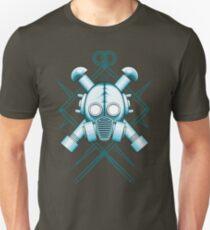 Tribal blue gasmask T-Shirt