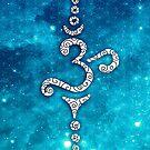 «OM Mantra, Sonido del Universo, Flor de la Vida.» de Anne Mathiasz