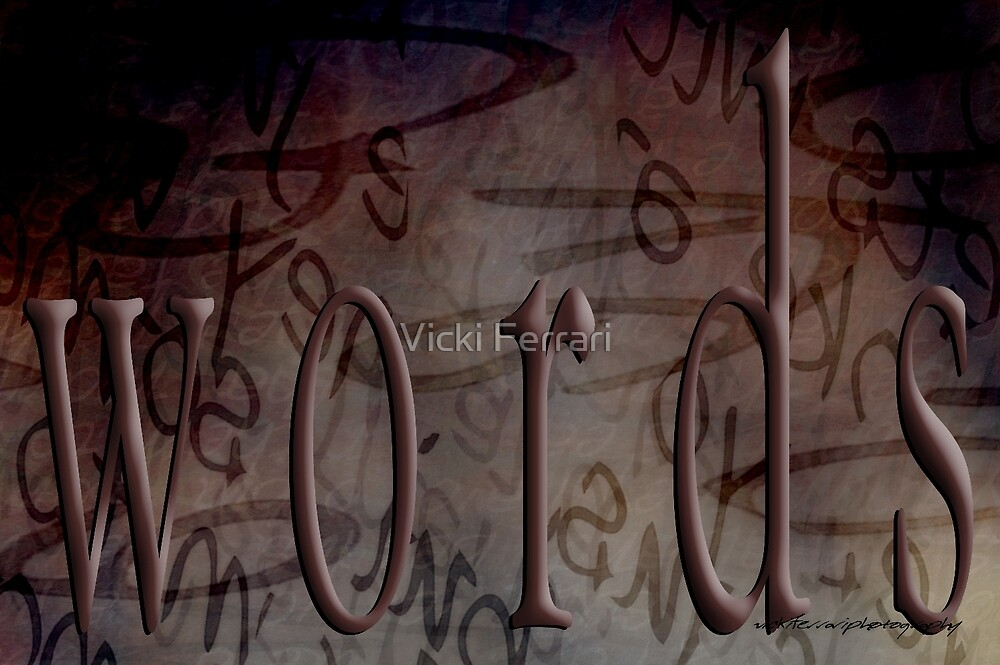 Magic Words © by Vicki Ferrari