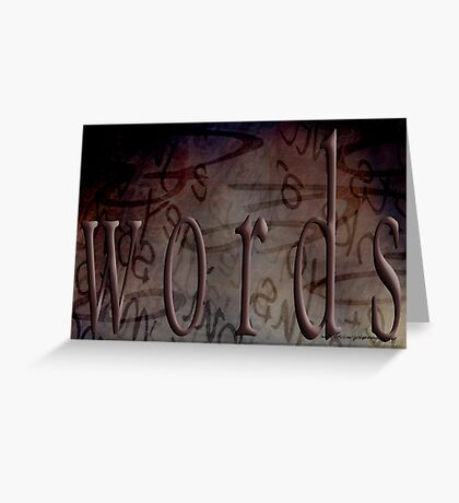 Magic Words © Greeting Card