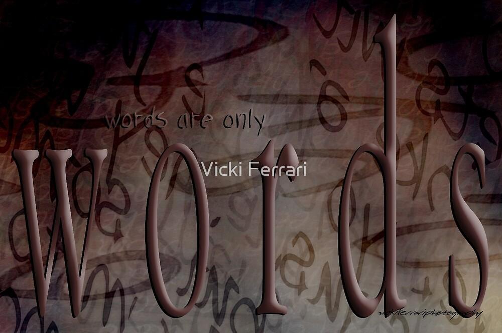 Steaming Words © by Vicki Ferrari