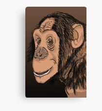 Monkey Smile Leinwanddruck