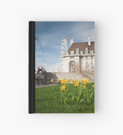 Springtime Hits London: London Eye. Hardcover Journal