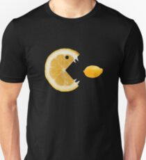Funny Lemon Eats Lemon Unisex T-Shirt