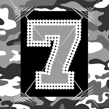 Camouflage 7 Grey - An Edge Tribute by GR8DZINE