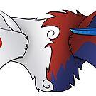 Ammy and Oki by DeguArts