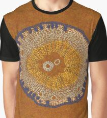 Growing - ginkgo - embroidery of plant cells Graphic T-Shirt