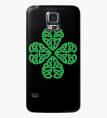 Traditional Celtic Shamrock Case/Skin for Samsung Galaxy