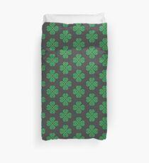 Traditional Celtic Shamrock Duvet Cover