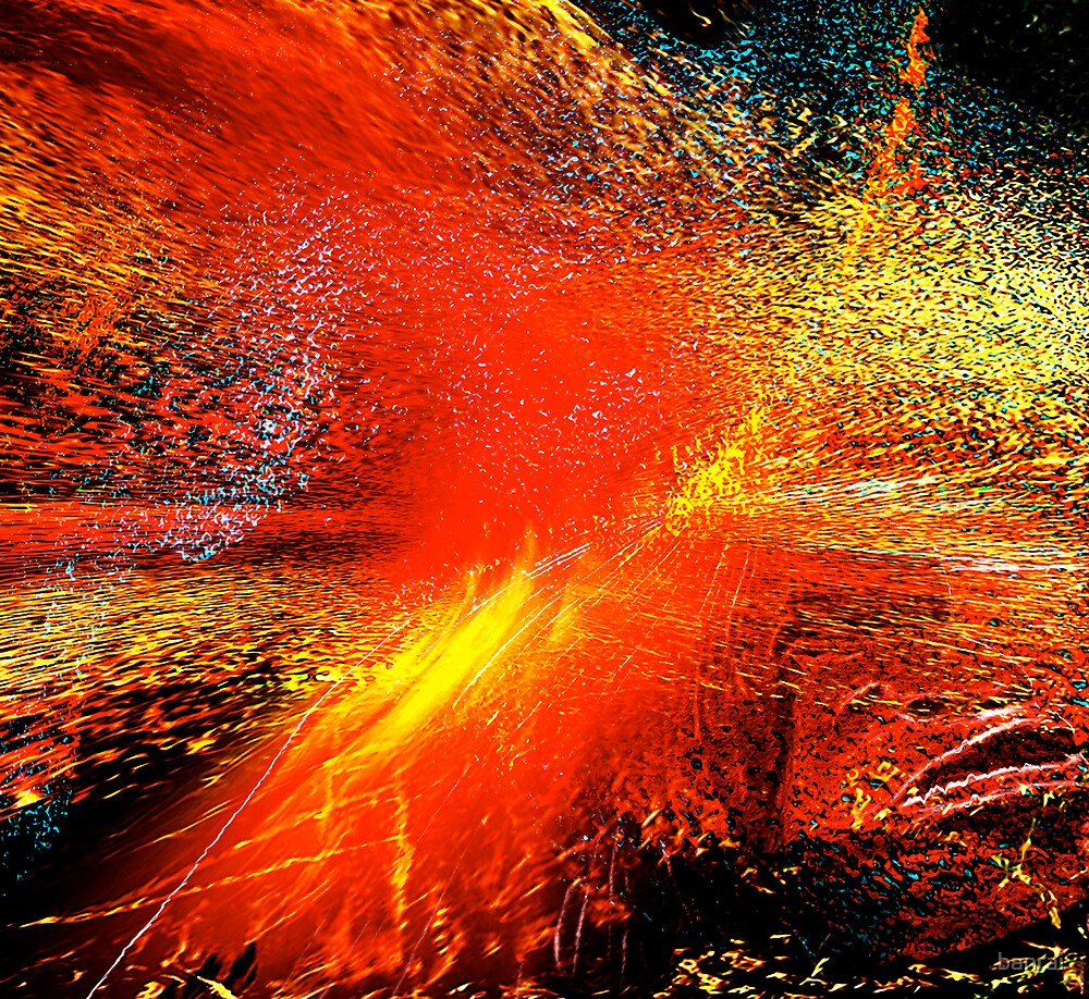 man#18...... exploding planet by banrai