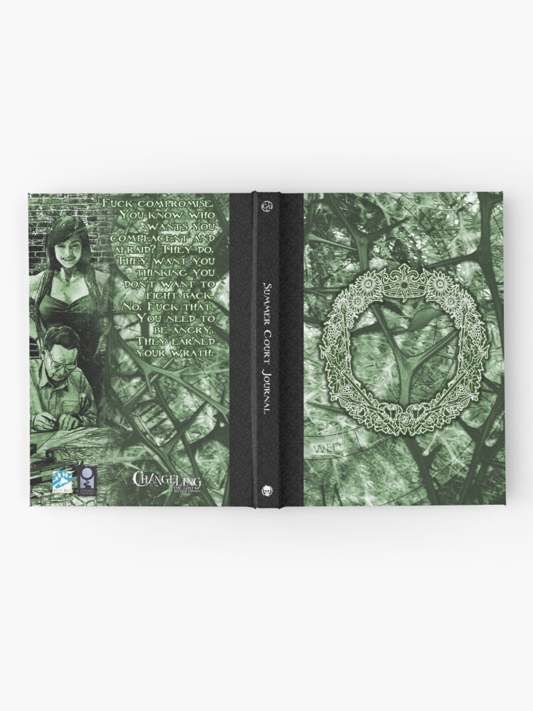 Alternate view of Lost Court: Summer Hardcover Journal