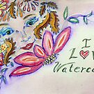 I love watercolor sketch by Naquaiya