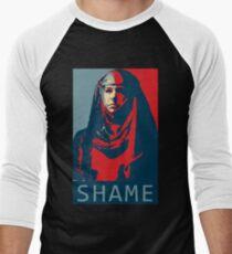 Shame Shame Shame! Men's Baseball ¾ T-Shirt