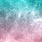 «Galaxia del ombre del verde del viridian del rosa del mar» de PLdesign