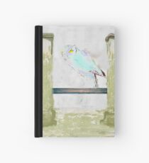 Abstract Owl Hardcover Journal