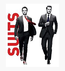 Suits Photographic Print