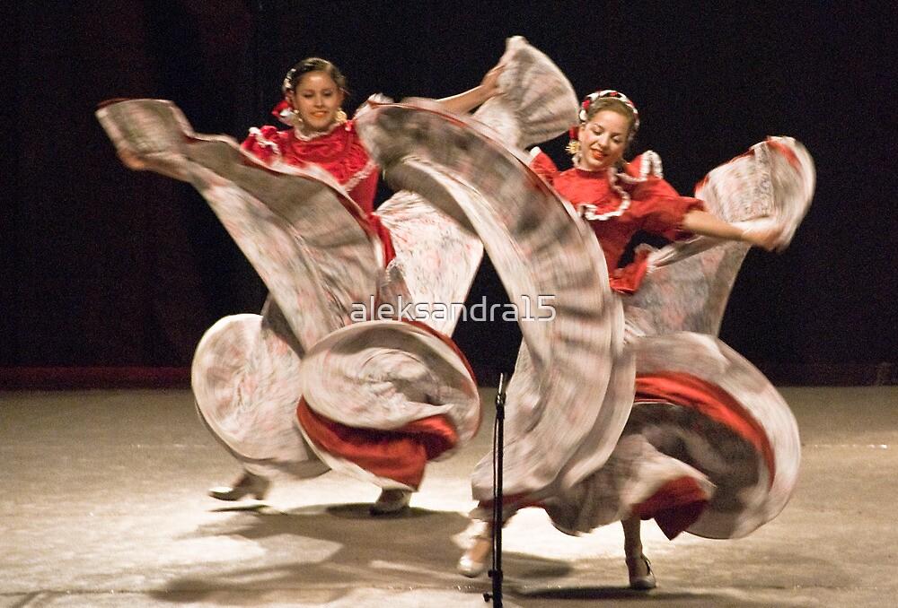 Andalusian dance by aleksandra15