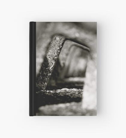 Receding Sea Wall Hardcover Journal
