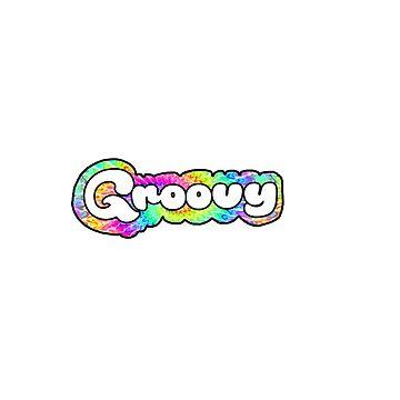 Groovy Tie Die by dkozelian