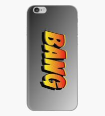 Cartoon BANG by Chillee Wilson iPhone Case