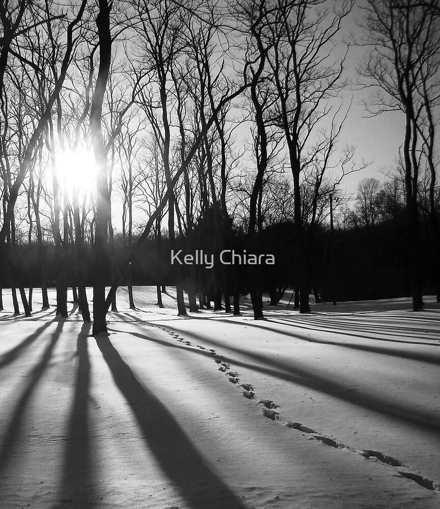 Shadowy Footprints by Kelly Chiara