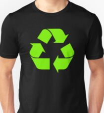 Recycle Symbol by Chillee Wilson T-Shirt
