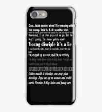 Kasabian Lyrics iPhone Case/Skin