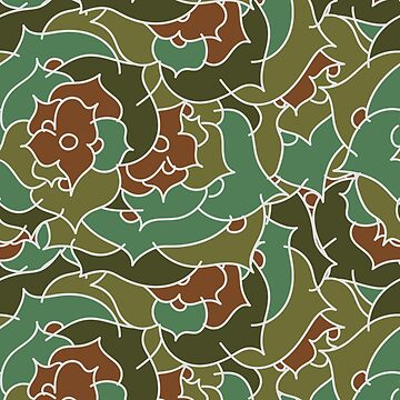 Garden Flower Floral Pattern by simplyhomelife