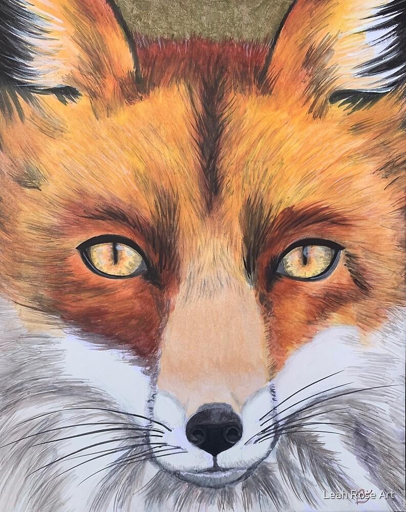 Foxy Boi by Leah Rose Art