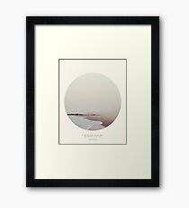 Maps - Circle Print Framed Print