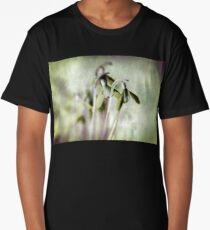 Subtle Snowdrop Long T-Shirt