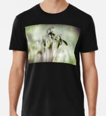 Subtle Snowdrop Men's Premium T-Shirt