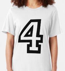 Nummer vier Slim Fit T-Shirt