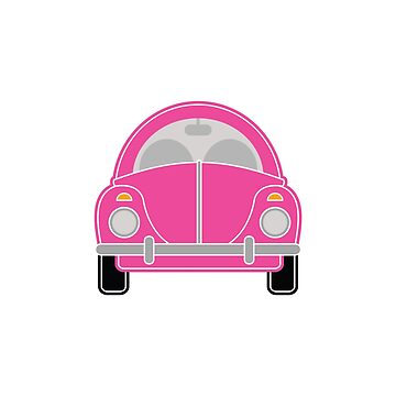 Pink Car by foxietoo