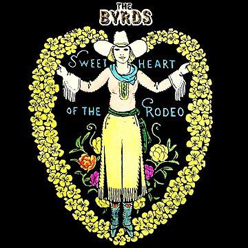 El amor de Byrds de la camisa del rodeo de RatRock