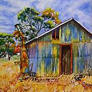 Coomelberrup Hut, Dumbleyung, West Australia by scallyart