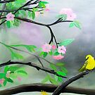 Pretty Little Yellow Bird by Karen L Ramsey