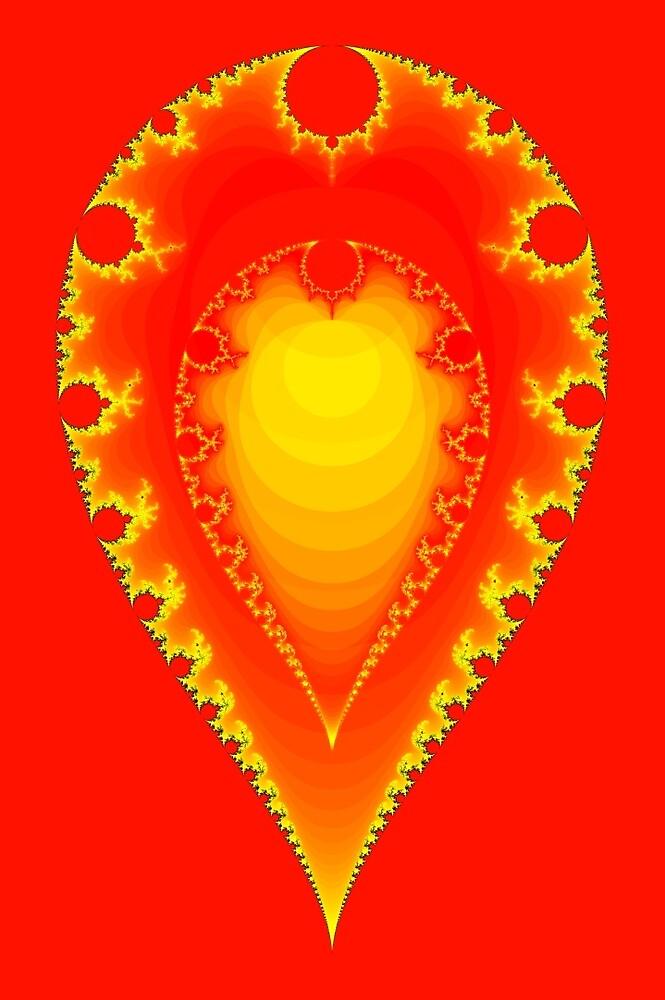 Inverted Mandelbrot II by Rupert Russell