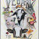 Vegan For The Animals by BriVTart