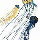 Metallic Jellyfish II by spacefrogdesign