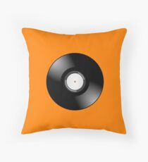 Vinyl Record by Chillee Wilson Throw Pillow