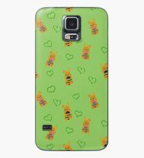 Osterhäschen Muster Hülle & Klebefolie für Samsung Galaxy