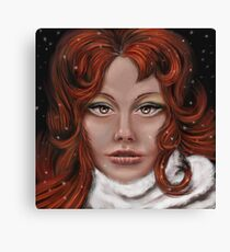 Dont cry my pretty Canvas Print